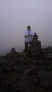 kilimanjaro cairn